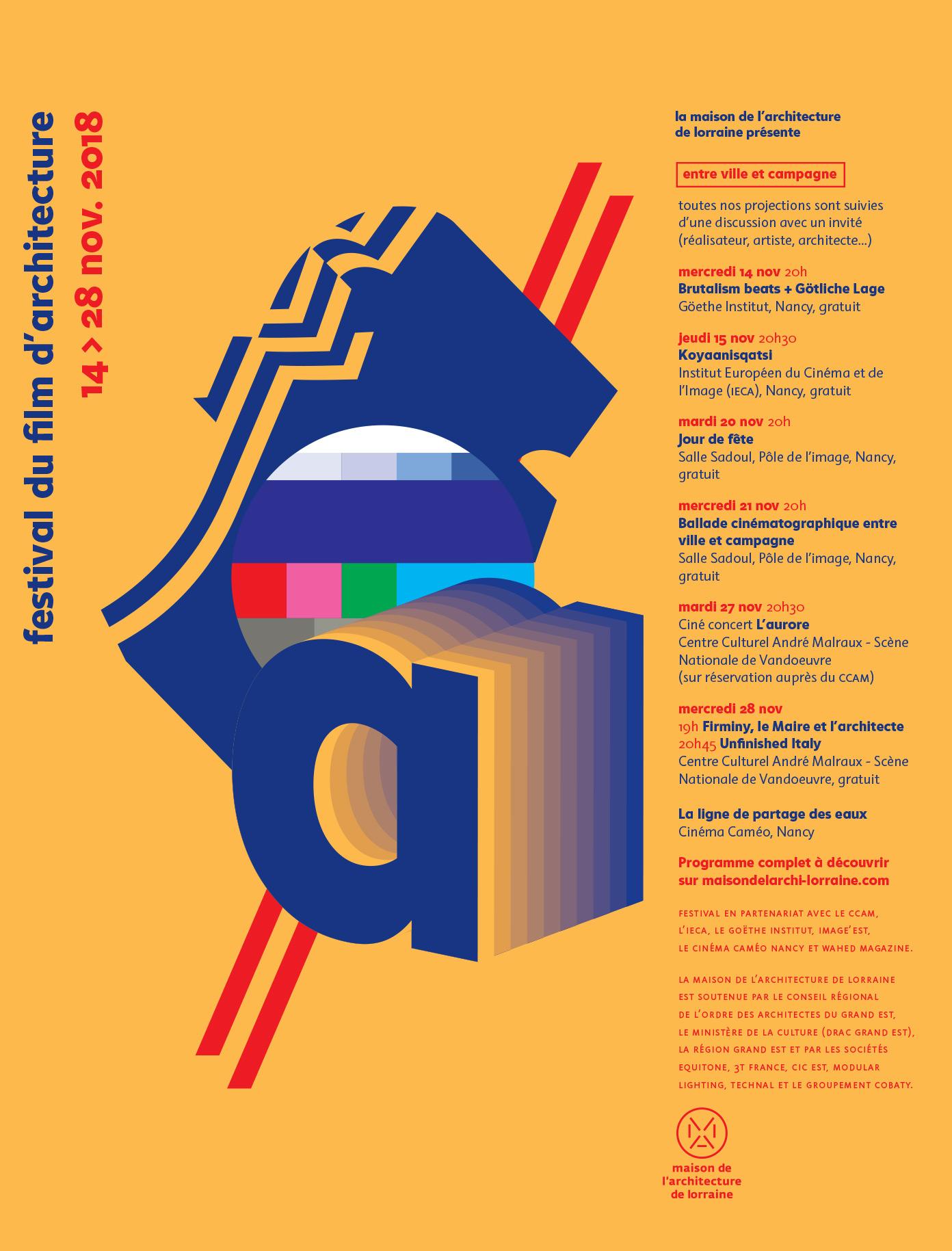 Liste Ordre Des Architectes festival   la maison de l'architecture de lorraine